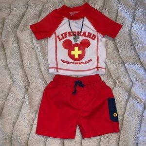4/$20 Disney Mickey Mouse Infant Set 0-3 month